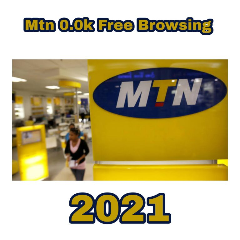Mtn 0.0k Free Browsing Cheat 2021