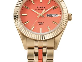 Timex's Malibu and Waterbury Legacy Boyfriend watches will be available on April 15 on Timex's website for £175 GBP (approximately $241 USD).