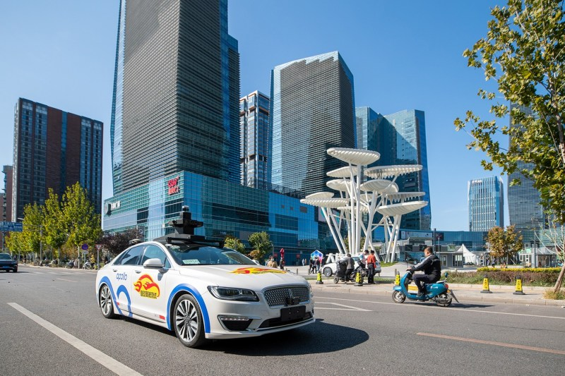 Baidu Launches Driverless Taxis in Beijing