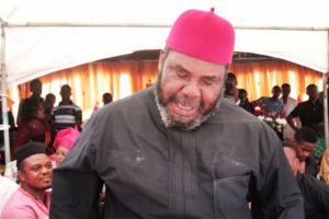 Nollywood actor Pete Edochie has condemned the act of getting on one knee to propose marriage. The actor said the western tradition