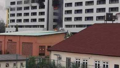 Photo of BREAKING: Treasury House On Fire In Abuja