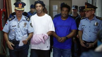 Photo of BREAKING NEWS: RONALDINHO RELEASED FROM PARAGUAYAN PRISON AFTER SERVING 32 DAYS
