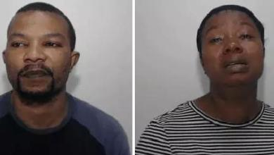 Photo of UK Judge Sentenced A Nigerian Man And His Wife To 19 Years Imprisonment For Sexual Abuse On A Little Boy & Girl