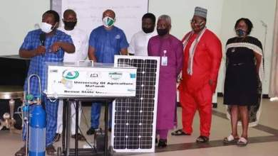 Photo of Federal University Of Agriculture Makurdi Produced A Ventilator To Support Benue State Government In Fight Against Covid-19