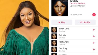 Photo of Popular Nollywood Actress Omotola Ekeinde Went Back To Music See Her new tracks
