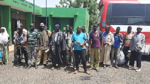 Photo of 32 Nigeriens fleeing Ghana through unapproved route busted