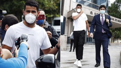 Photo of Ex-Chelsea striker, Diego Costa handed 6-month prison sentence and slapped with £482k fine by Spanish authorities in tax fraud case (photos)