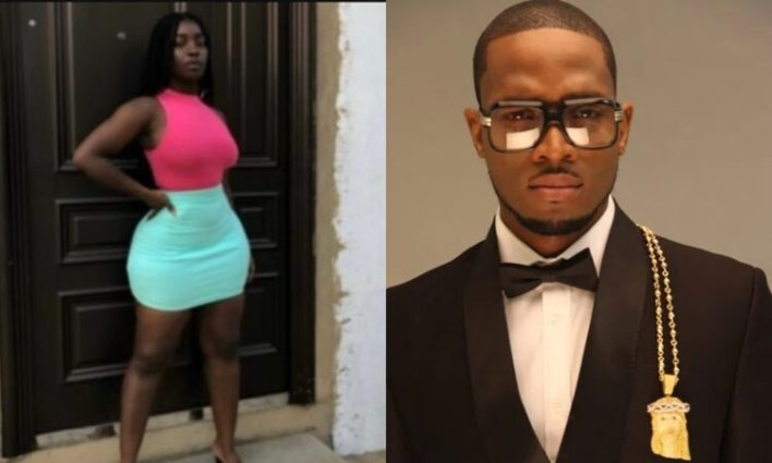 Another lady calls out Dbanj for inappropriate s3xual behaviour towards her.   Nigerian singer, D'banj has been called out by a Librarian video vixen on Twitter.