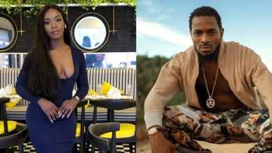 Photo of Lady who accused Dbanj of rape arrested by Lagos police