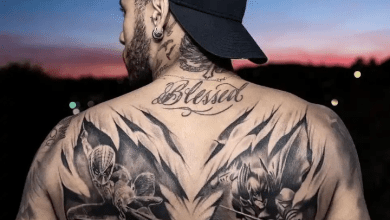 Photo of 10 of the remarkable tattoos of famous footballers