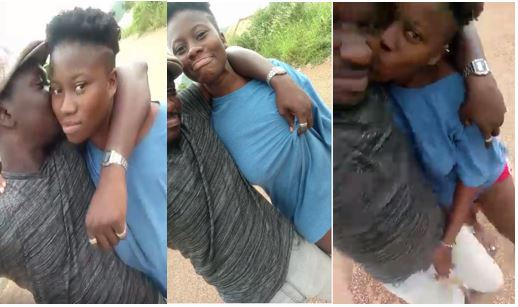 See how this young man and his girlfriend touch each other in public A video has been making rounds online and it features two young Nigerian lovers who can't their hands