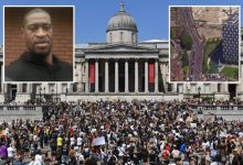 Photo of George Floyd: Thousands Protest Going On In UK