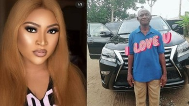 """Photo of This Is Wickedness Nah, With All The Money You Have, Your Dad Is Looking Like A Gateman"""" – Troll Tells Actress Uche Elendu, She Reacts"""
