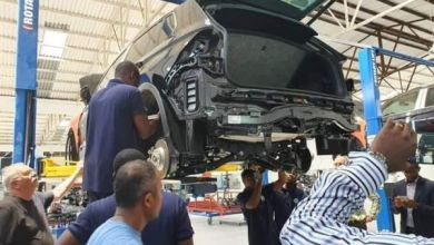 Photo of See The First Car In Ghana Assembled By Volkswagen
