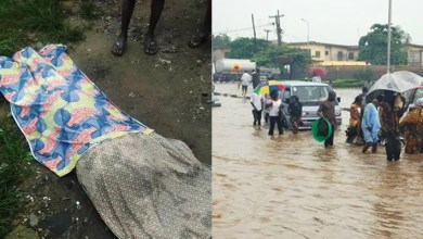 Photo of Dead Body Of 17-Year-Old Girl Swept Away By Lagos Flood Has Been Found