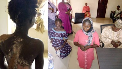 Photo of Woman pours hot water on step-sister in Kogi