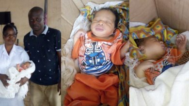 Photo of Abandoned New Born Baby rescued By a Man