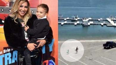 Photo of CCTV records the moment Naya Rivera and son arrived Lake Piru before her disappearance