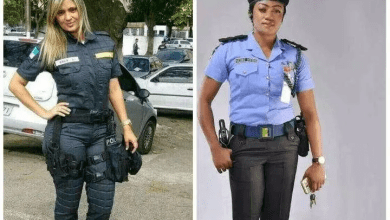 Photo of Between Nigerian female Police and American female Police, Who is the prettiest?(Photos)