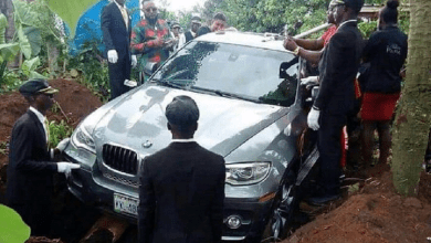 Photo of Remember The Nigerian Man Who Buried His Late father In A Brand New N32 Million Car