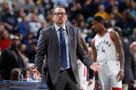 With Kawhi Leonard on the roster, the Toronto Raptors made an unlikely run last year as they went all the way to the NBA Finals and won. It was a massive moment in Canadian basketball history and was also a personal triumph for first-year head coach Nick Nurse. Some detractors said Nurse wasn't crucial to the Raptors' success
