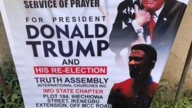 Photo of A Pastor Set to hold special prayer for Donald Trump's re-election