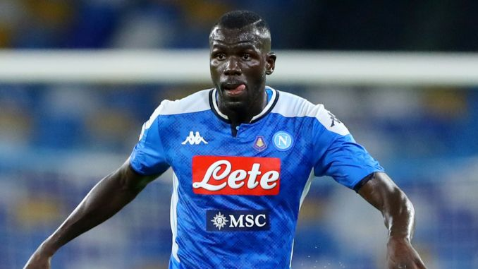 Manchester City 'set to sign Napoli star Kalidou Koulibaly for £72m.  The Premier League side are strongly linked with a move for the