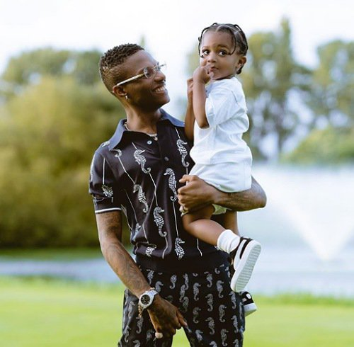Wizkid has 3 sons with 3 different women; Shola, Binta and Jada his manager.