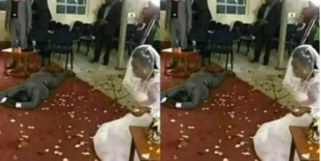 A Man Finds That His Bride Has Four Children On His Wedding Day.  A man got more than the happy-ever-after life he hoped will come after exchange