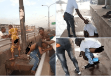 Photo of Lagos residents arrested for open defecation (photos)