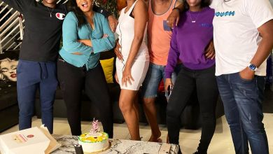 Photo of Omotola Jalade-Ekeinde, Throw Homecoming Party To Celebrate Daughter  Masters Degree Completion