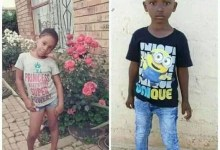 Photo of Two children, 8 and 6 found dead in South Africa a day after they went missing