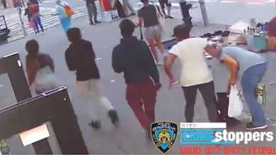 Photo of Woman, 74, punched in face after teens snatch purse in NYC.