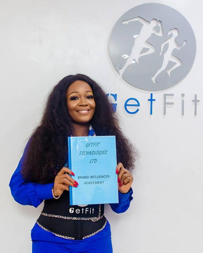 BBNaija's Lucy signs new influencer deal with Get Fit Nigeria.   Former Big Brother Naija housemate, Lucy Edet has bagged an influencer