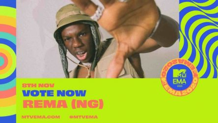 """Burna Boy, Rema, Nominated for """"Best African Act"""" Award For 2020 MTV EMA.  MTV today announced nominations for the """"2020 MTV EMAs, and Nigerian singersBurna Boy"""