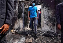 Photo of Gov Sanwo-Olu visits different places destroyed during the chaos in Lagos