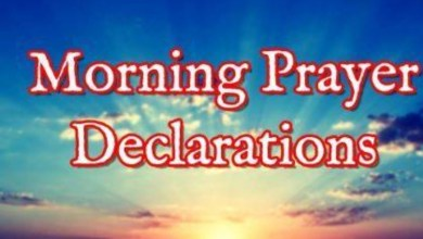 Photo of Declare These Prayers To Command Your Day (Monday 5th October, 2020)