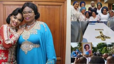 Actress, Iyabo Ojo finally lays mother to rest (Video)