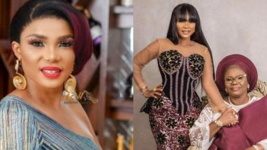 """""""No Wonder She Insisted On No Birthday Party"""" – Iyabo Ojo Discovers Why Her Mother Lied About Her Age (Video)"""