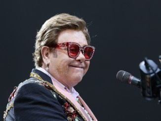 Elton John says he's holding off on recording another album