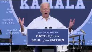 "Joe Biden: ""We're showing who we are you and I 