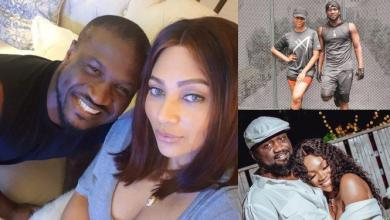 Jude and Paul Okoye's wives commiserate with Peter's wife Lola over loss of father
