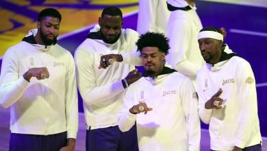 Lakers Championship Rings Honor The Legacy of Kobe Bryant