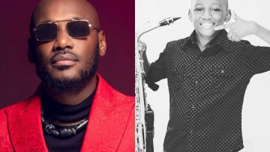 2baba Idibia Wishes His Son, Nino A Happy Birthday As He Turns 15 Years Today