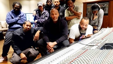 Dr. Dre back in the studio days after his release from hospital for brain aneurysm (Photo)