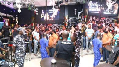 Police Arrest 237 Suspects In Lagos Clubs