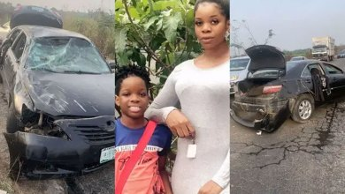 Wizkid's First Babymama, Shola Involved In Terrible Motor Accident (PHOTOS)