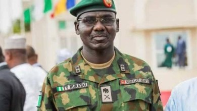 I?m not a politician, so I have no word for the opposition - Buratai reacts to PDP kicking against his nomination as an Ambassador