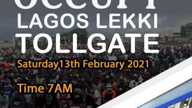 #OccupyLekkiTollgate trends as Nigerians plan protest over the reopening of Lekki tollgate