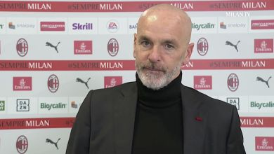 """Pioli: """"We are a young but aware team that does not allow itself to be influenced by controversy"""""""